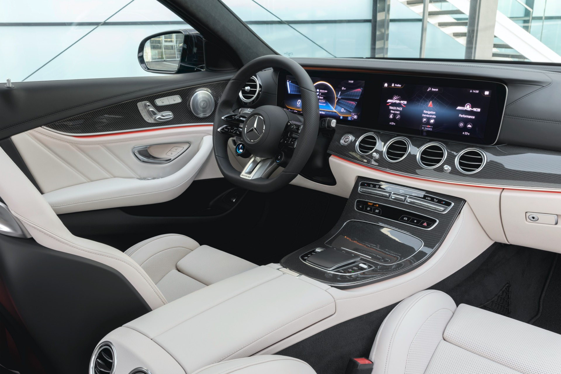 Mercedes-AMG E 53 Estate Facelift Interior