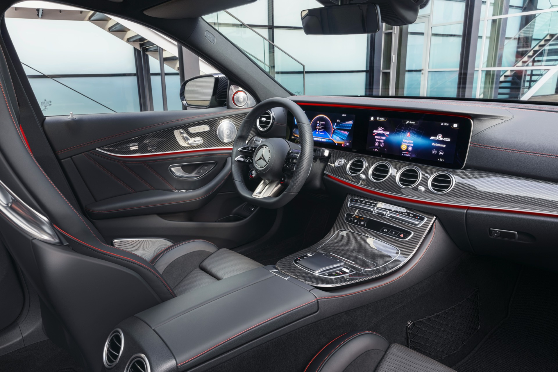 Mercedes-AMG E 53 Sedan Facelift Interior