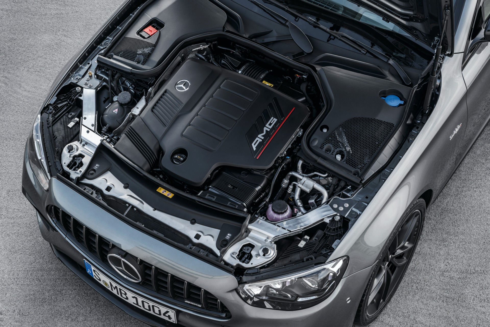 Mercedes-AMG E 53 Sedan Facelift Engine