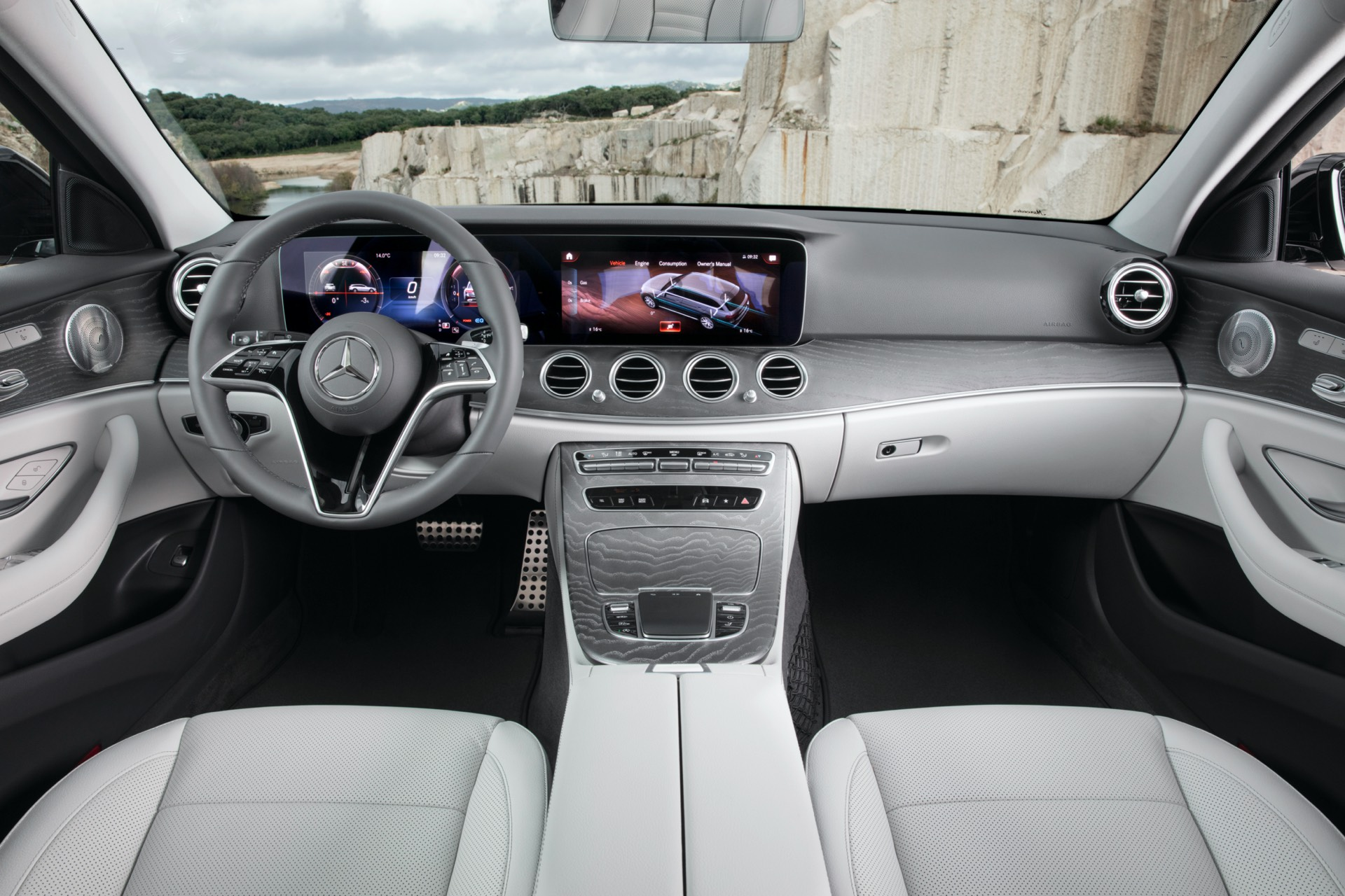 Mercedes-Benz E Class All Terrain Facelift Dashboard