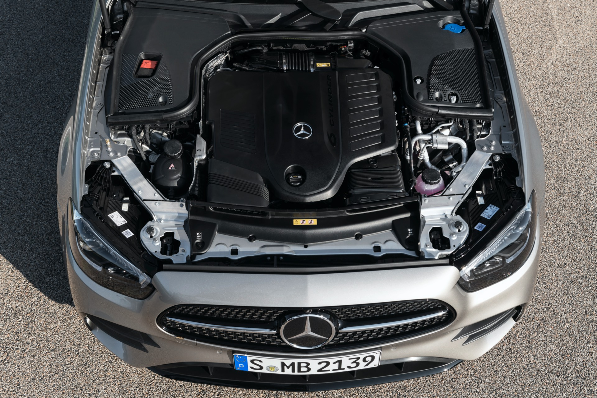 Mercedes-Benz E Class Facelift Engine
