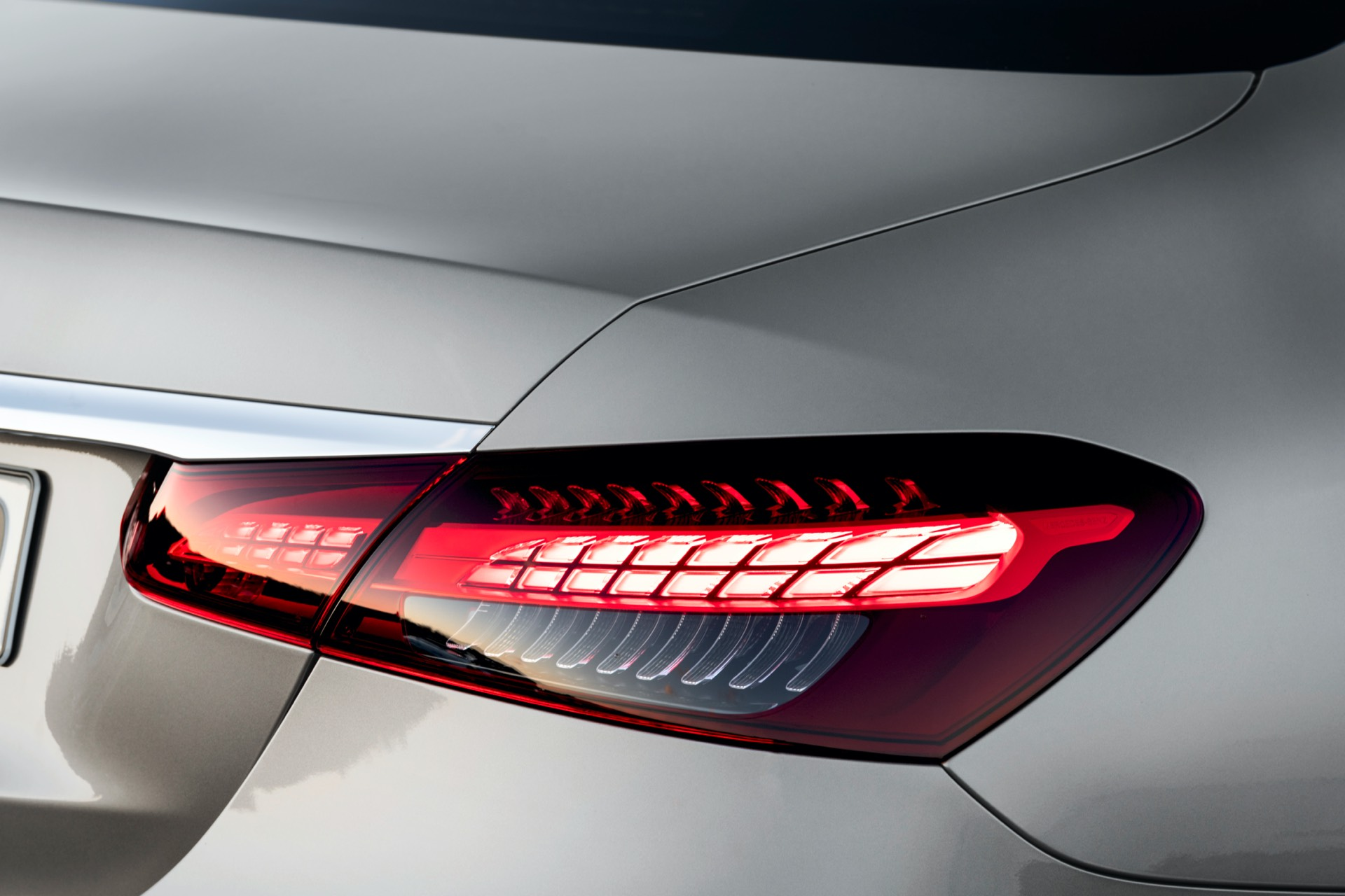 Mercedes-Benz E Class Facelift Rear Lights