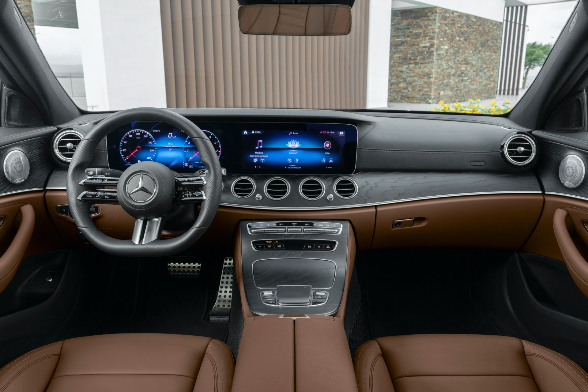 Mercedes-Benz E Class Facelift Interior
