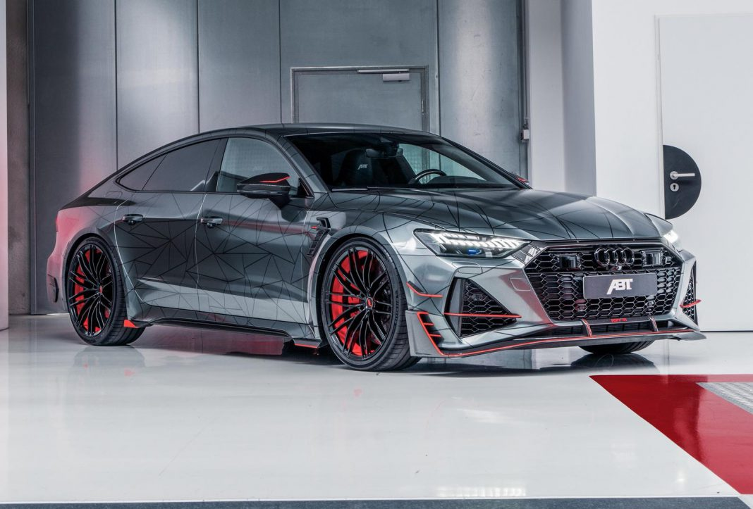 Abt Rs7 R Audi Rs7 Sportback Gets 740hp Upgrade Gtspirit