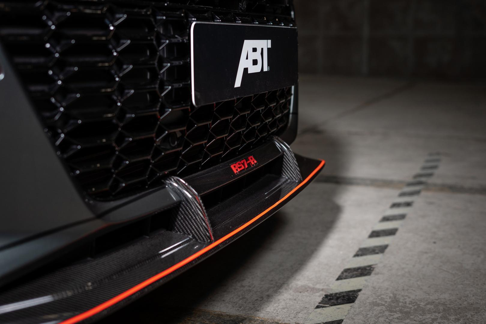 ABT RS7-R Front Lip