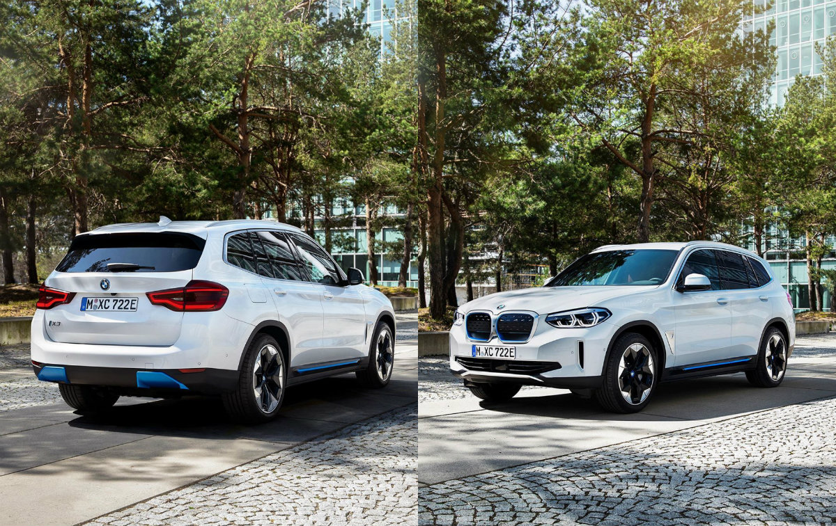 2021 BMW iX3: Full Electric SUV Leaked Online