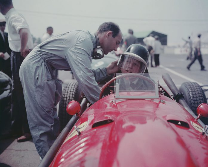 Sir Stirling Moss Ferrari