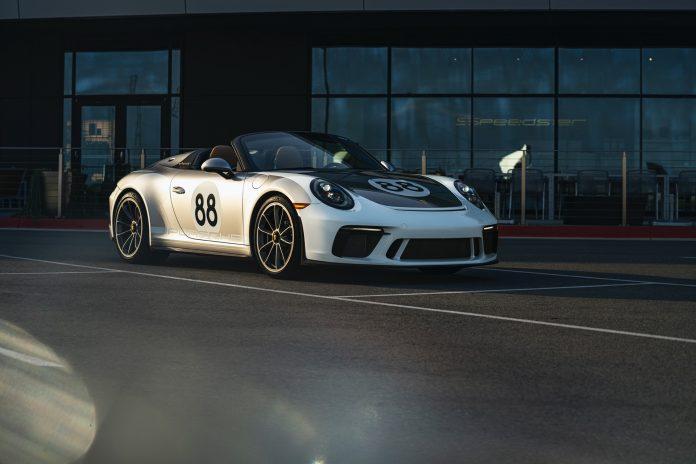 Porsche 991 Speedster Front Low