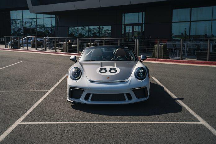 Porsche 991 Speedster Front