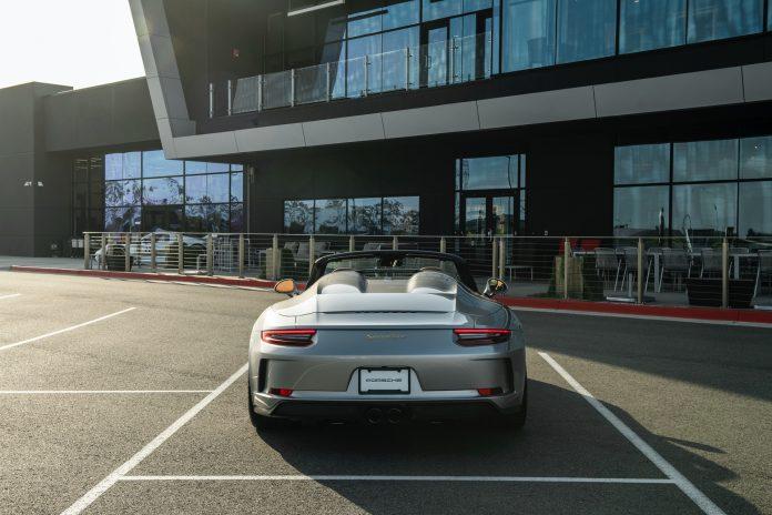Porsche 991 Speedster Rear