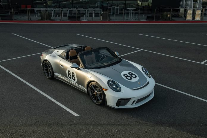 Porsche 991 Speedster Front High