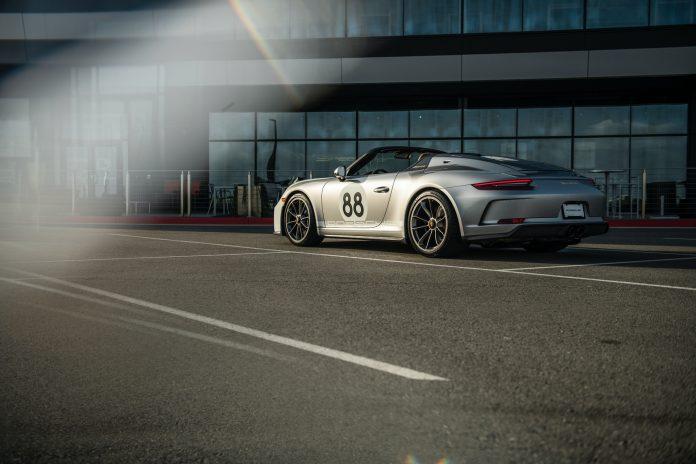 Porsche 991 Speedster Rear Side