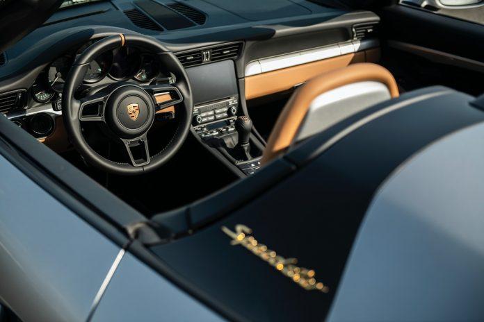 Porsche 991 Speedster Interior