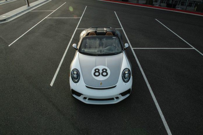 Porsche 991 Speedster Front Top