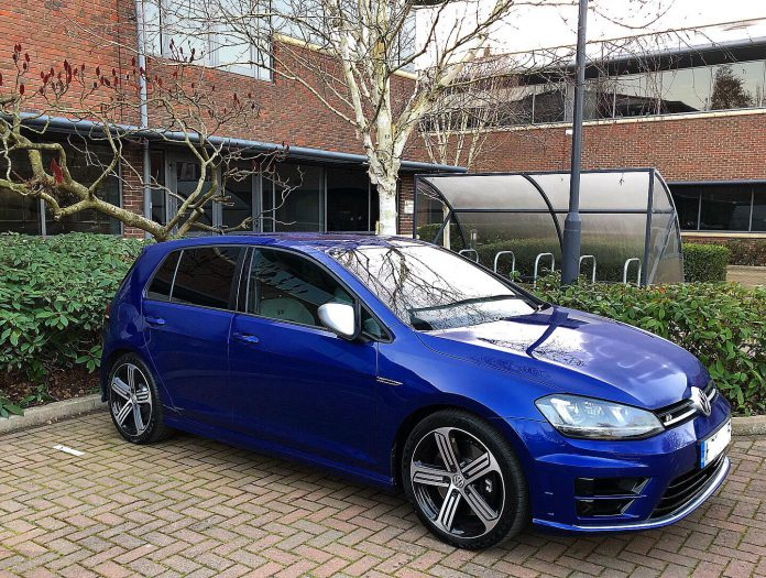 VW Golf 7 R Manual