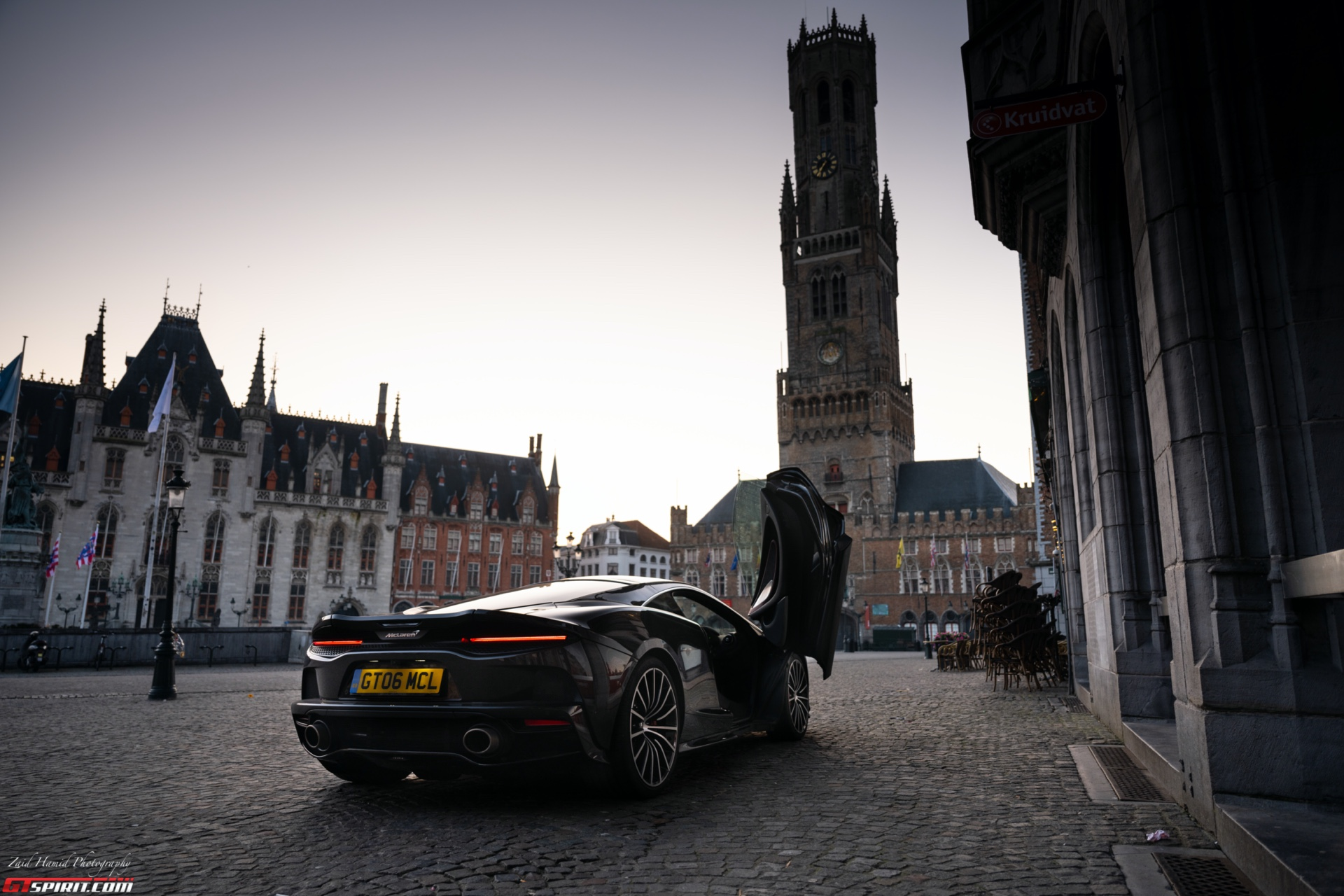 Special Report: Grand Touring in The McLaren GT