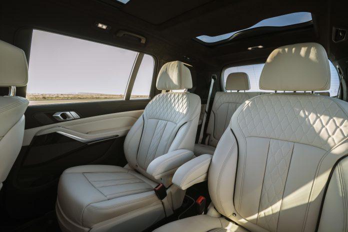 BMW Alpina XB7 Seats