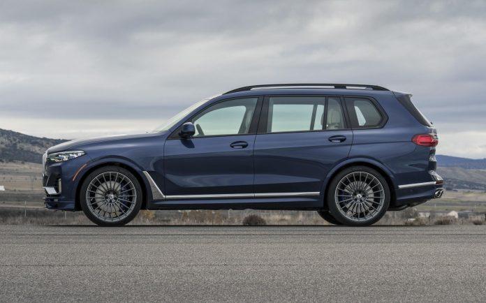 BMW Alpina XB7 Side