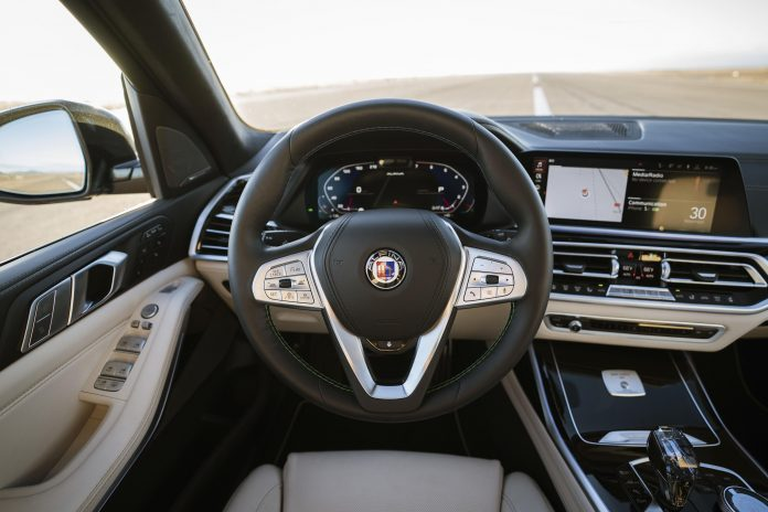 BMW Alpina XB7 Steering Wheel