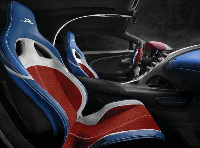 Bugatti Divo Customer Configuration French Flag
