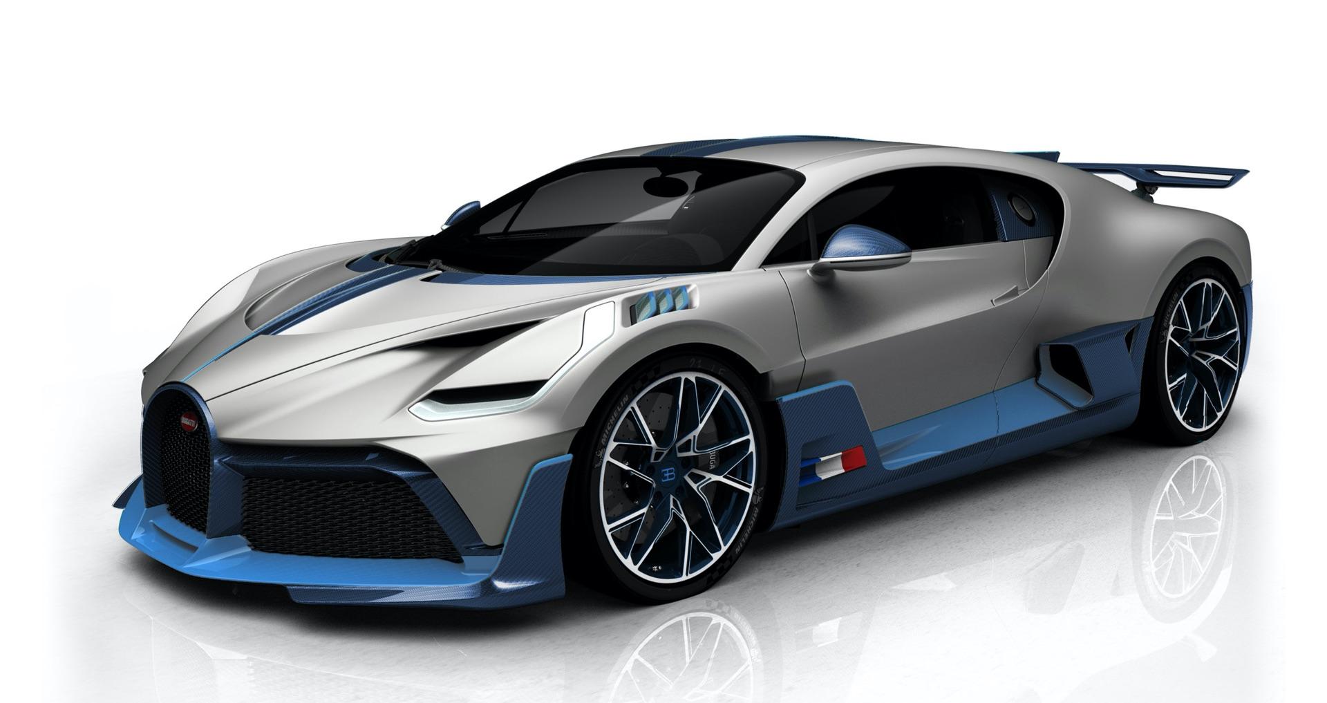 Bugatti Shares New Bugatti Divo Configurations