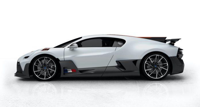 Bugatti Divo Customer Configuration