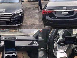 Mercedes-Benz S-Class Spyshots