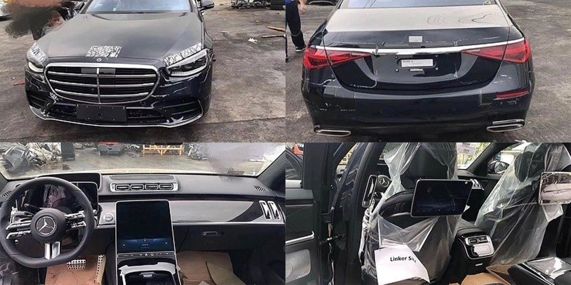Upcoming Mercedes-Benz S-Class Leaks Online