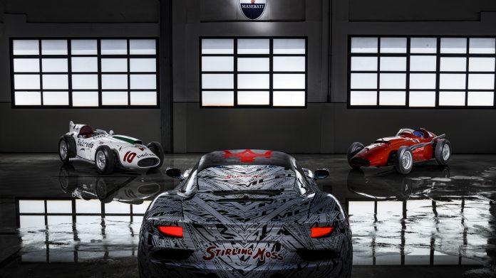 Maserati MC20 Prototype Rear