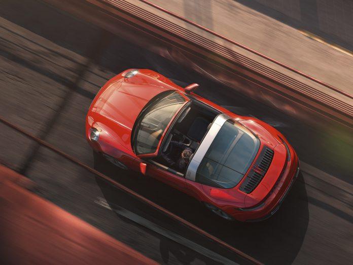 Porsche 992 Targa 4 Top