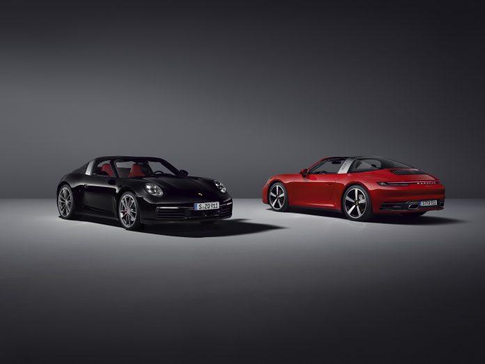 Porsche 992 Targa 4S and 4