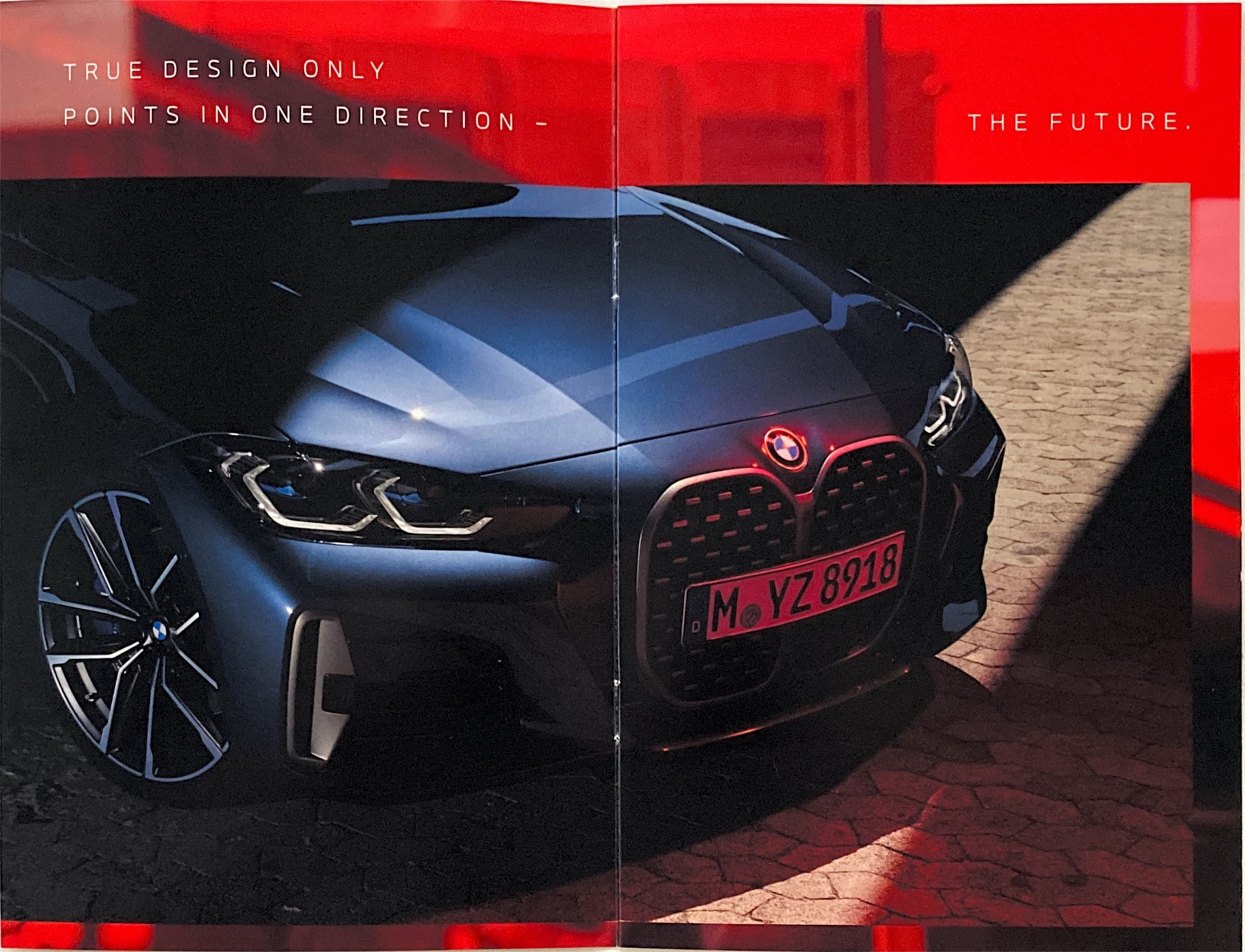 2021 BMW 4 Series Coupe Grille