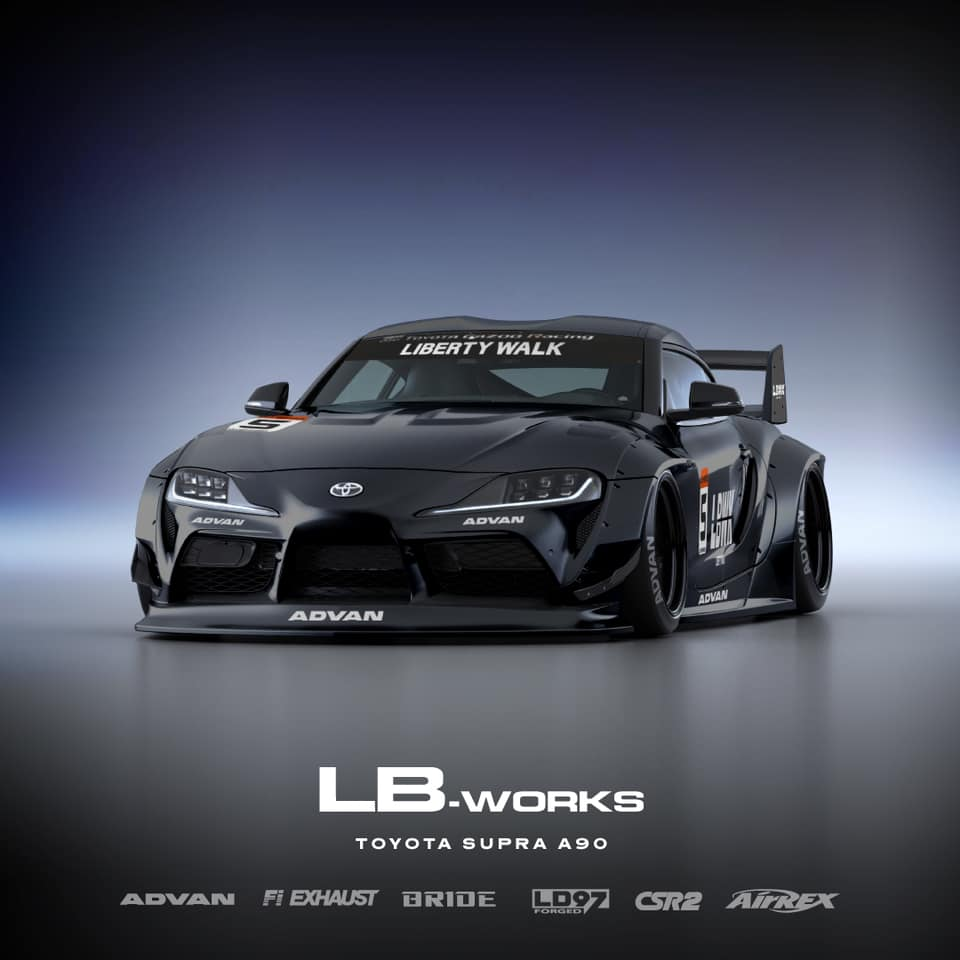 Liberty Walk Toyota Supra
