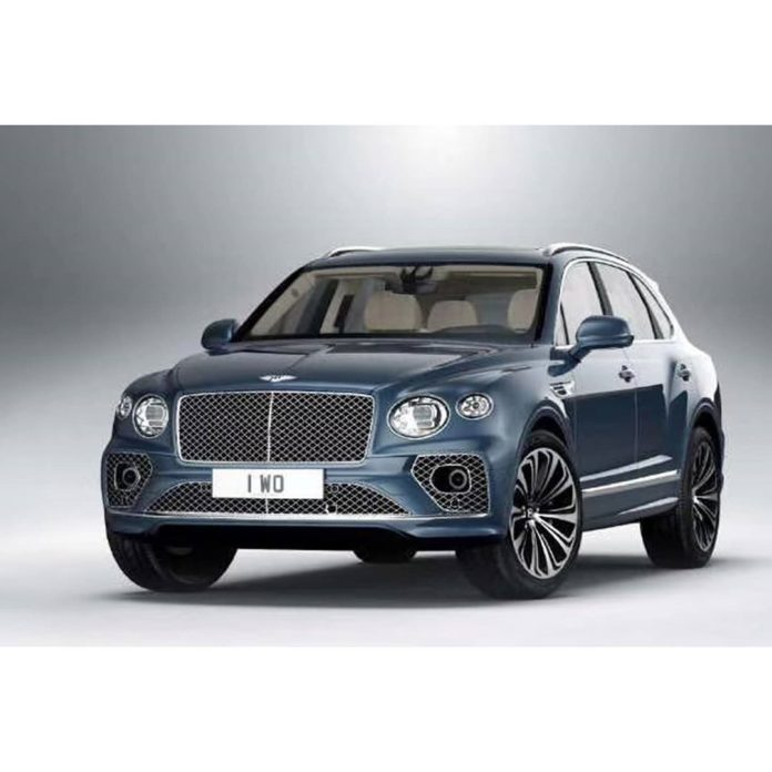 Bentley Bentayga Facelift Leaked