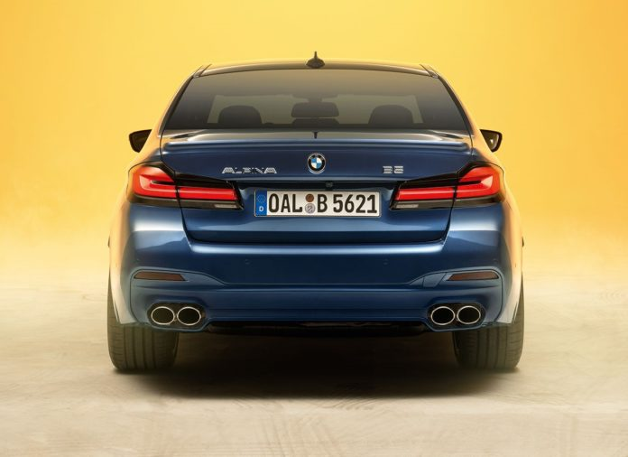 2021 BMW Alpina B5 Rear