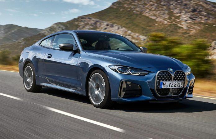 2021 BMW M440i Coupe Blue
