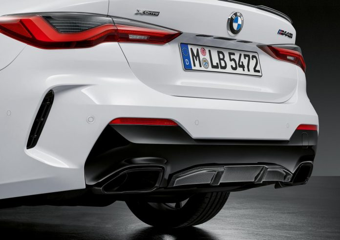 2021 BMW M440i Coupe Exhaust