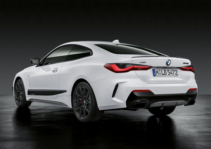 2021 BMW M440i Coupe Rear