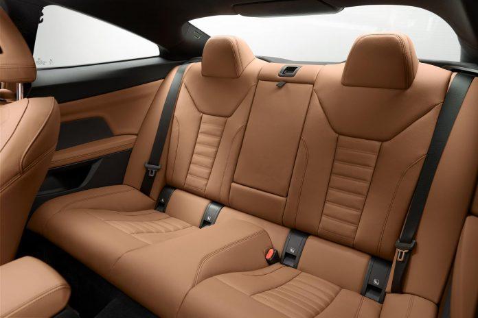 2021 BMW M440i Coupe Rear Seats