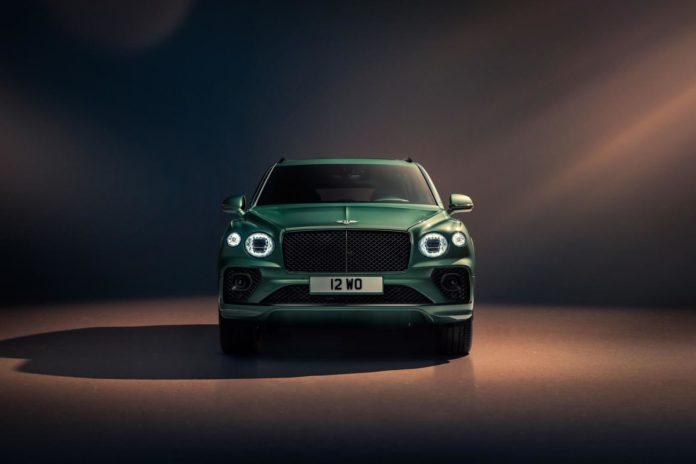 2021 Bentley Bentayga Front