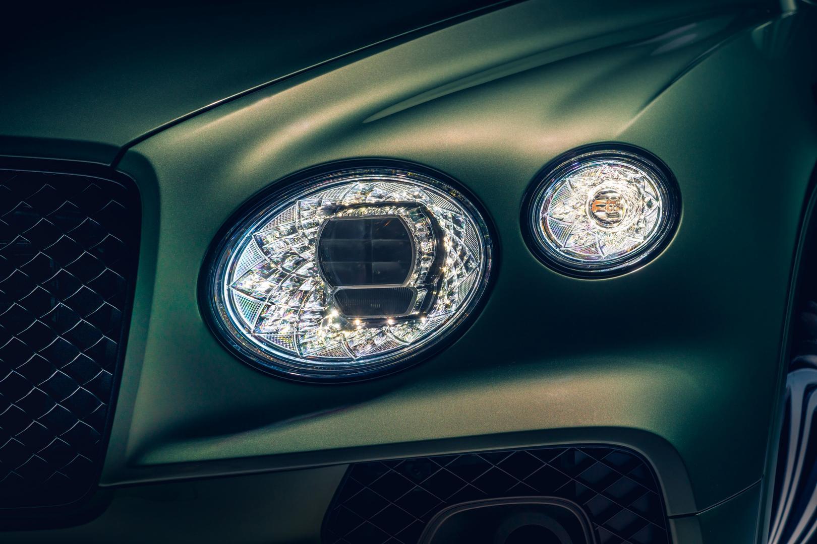 2021 Bentley Bentayga Headlights