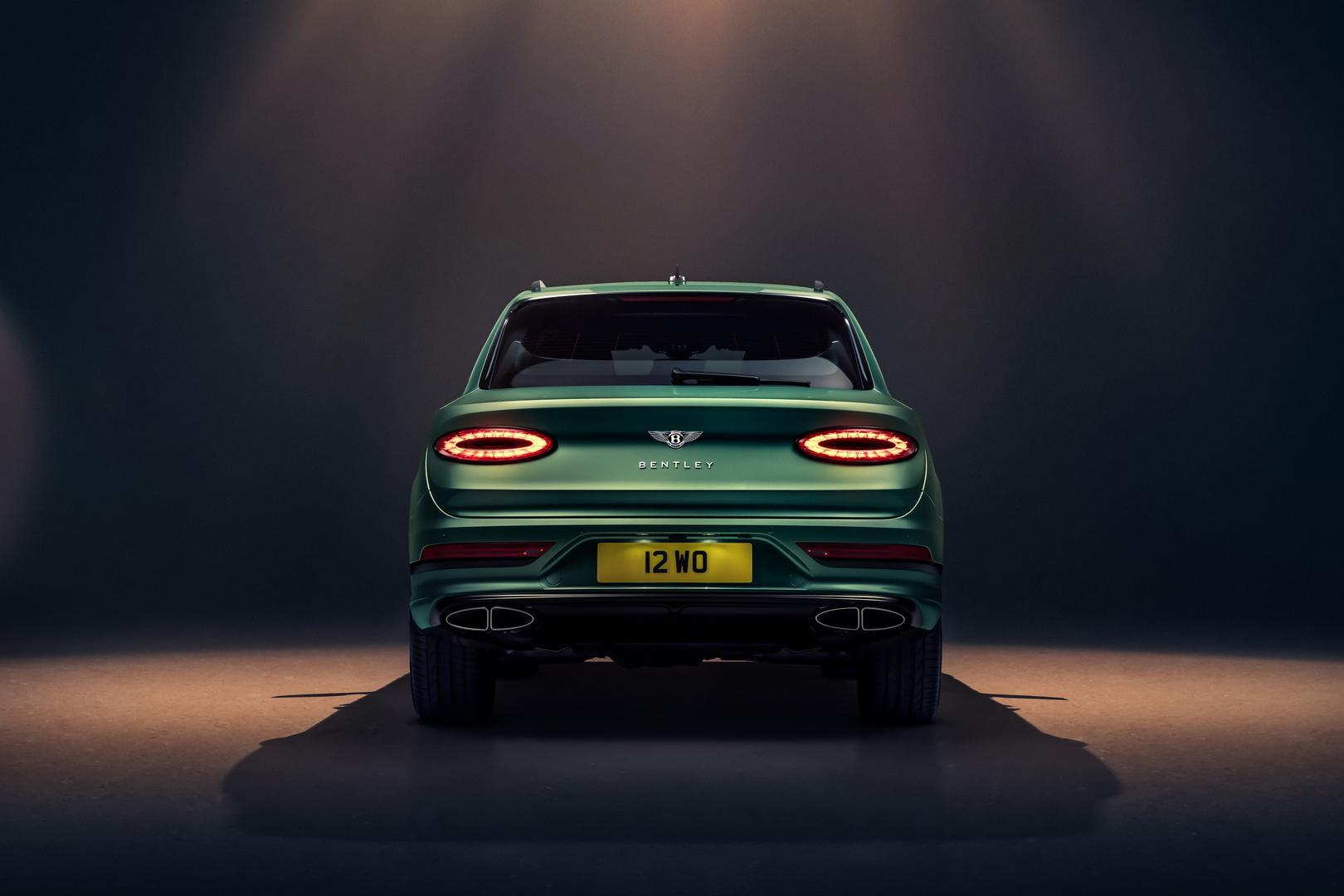 2021 Bentley Bentayga Rear Lights