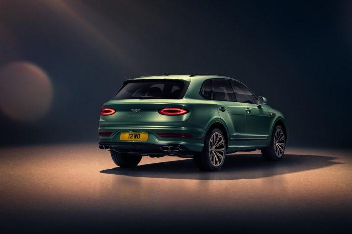 2021 Bentley Bentayga Rear Side