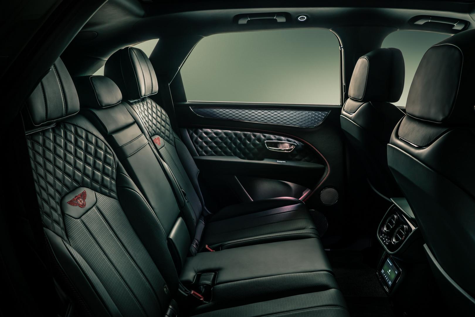 2021 Bentley Bentayga Seats