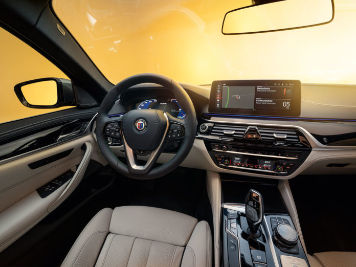 BMW Alpina B5 Interior