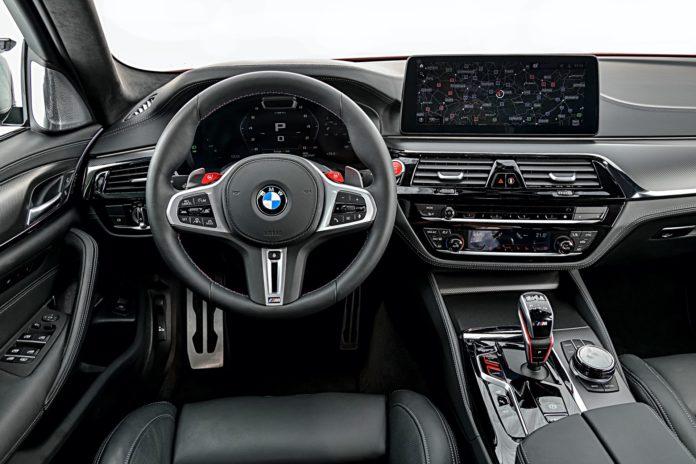 BMW M5 2020 Facelift Interior