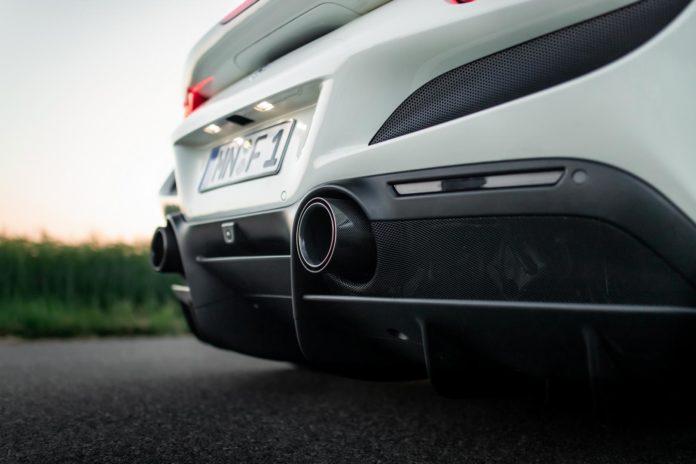Ferrari F8 Tributo Exhaust