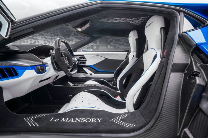 Mansory Ford GT Interior