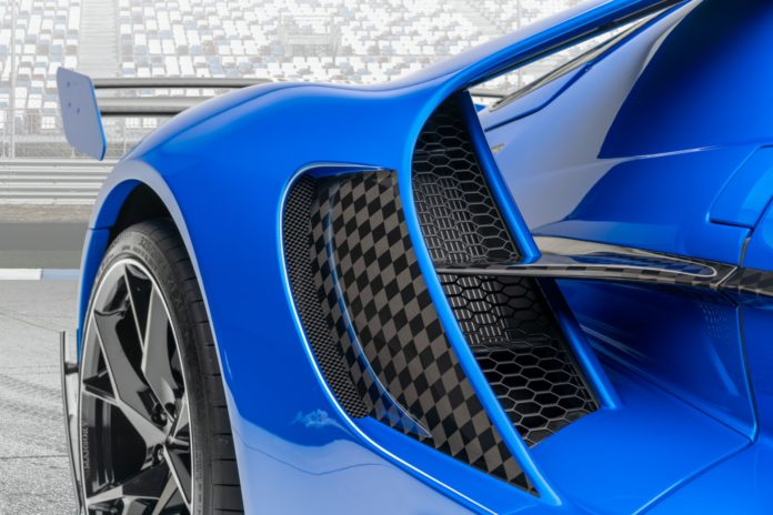 Mansory Ford GT Side Vent