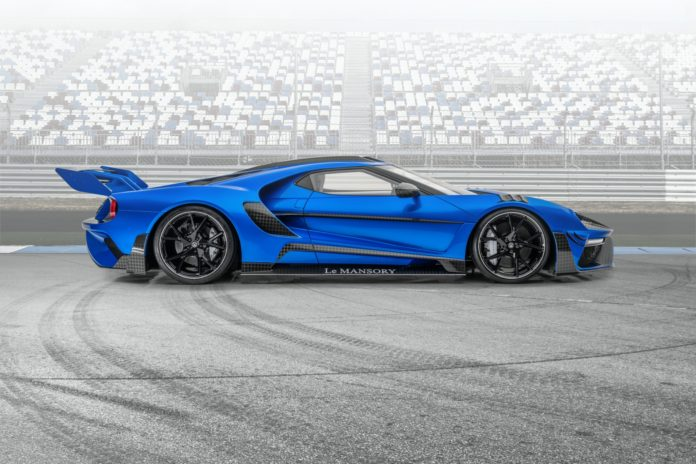 Mansory Ford GT Side